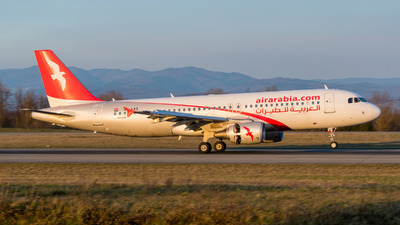 SU-AAD - Airbus A320-214 - Air Arabia Egypt
