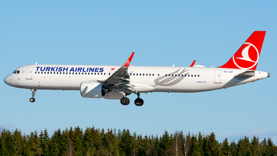 A picture of TCLSA - Airbus A321271NX - Turkish Airlines - © Laszlo Fekete