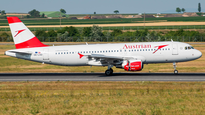 OE-LXD - Airbus A320-216 - Austrian Airlines