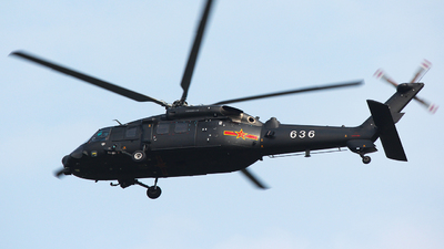 636 - Harbin Z-20 - China - Army
