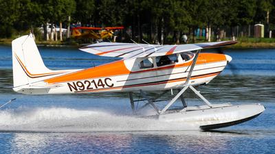 A picture of N9214C - Cessna 180 - [31313] - © C. v. Grinsven