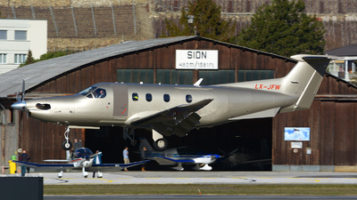 LX-JFW - Pilatus PC-12/47E - Jetfly Aviation