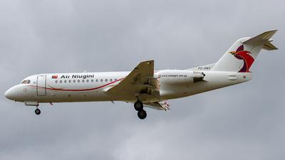P2-ANV - Fokker 70 - Air Niugini