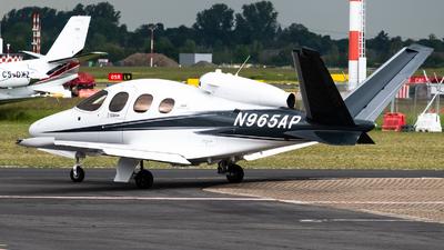 N965AP - Cirrus Vision SF50 G2 - Cirrus Design Corporation