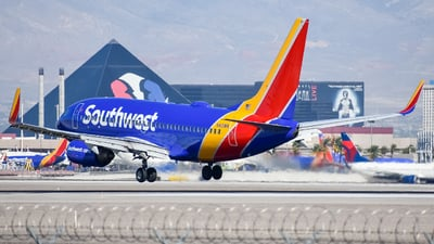 N413WN - Boeing 737-7H4 - Southwest Airlines