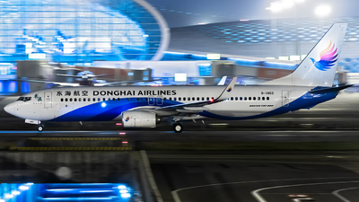 A picture of B1462 - Boeing 73783Z - Donghai Airlines - © CASSPI