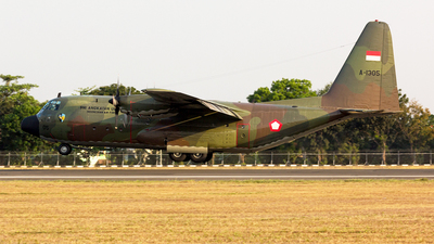 A-1305 - Lockheed C-130B Hercules - Indonesia - Air Force