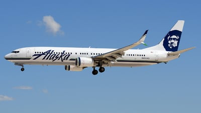 N492AS - Boeing 737-990ER - Alaska Airlines