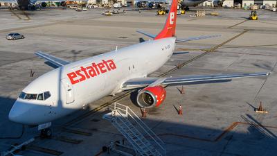 A picture of XAESF - Boeing 737490(SF) - Estafeta Carga Aerea - © Hector Rivera-HR Planespotter