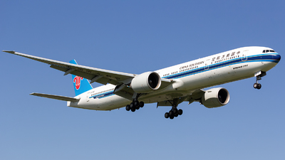 A picture of B7185 - Boeing 77731B(ER) - China Southern Airlines - © ShiraNoko