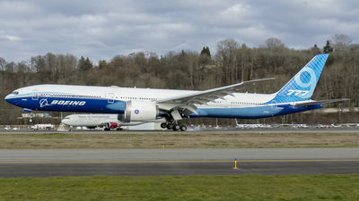 A picture of N779XX - Boeing 7779 - Boeing - © Brad Ice