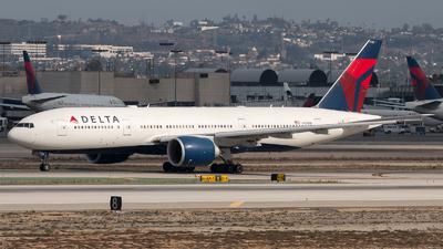 N705DN - Boeing 777-232LR - Delta Air Lines