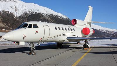 P4-JET - Dassault Falcon 50EX - Global Jet Luxembourg