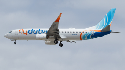 A picture of A6FEN - Boeing 7378KN - FlyDubai - © Eyal Zarrad