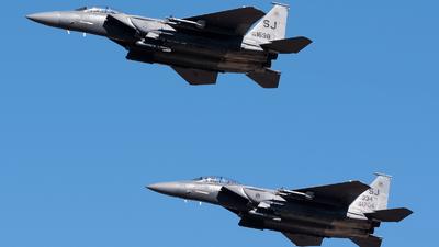 88-1698 - McDonnell Douglas F-15E Strike Eagle - United States - US Air Force (USAF)