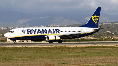 A picture of EIEKM - Boeing 7378AS - Ryanair - © Javier Rodriguez - Amics de Son Sant Joan