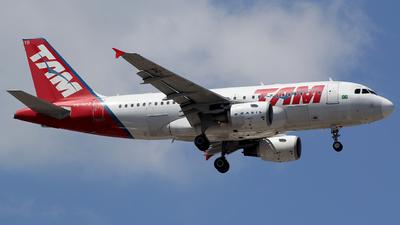 PR-MYB - Airbus A319-112 - TAM Linhas Aéreas