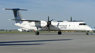 A picture of CGLQF - De Havilland Canada Dash 8400 - Porter Airlines - © Craig L Baldwin
