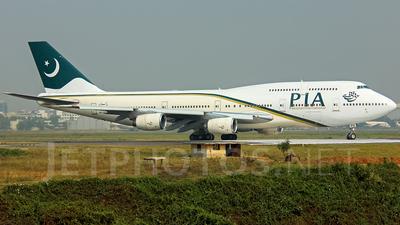 AP-BFU - Boeing 747-367 - Pakistan International Airlines (PIA)