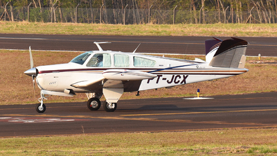 PT-JCX - Beechcraft V35B Bonanza - Private