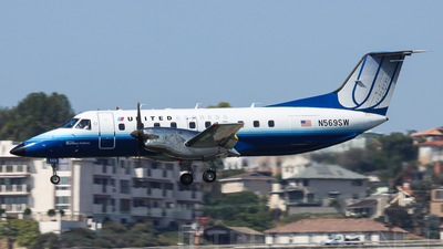 N569SW - Embraer EMB-120ER Brasília - United Express (SkyWest Airlines)