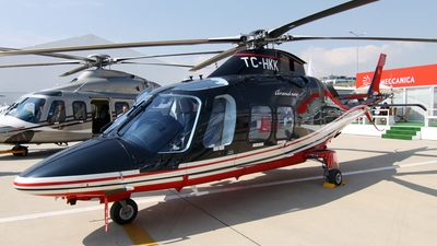 TC-HKK - Agusta-Westland AW-109SP GrandNew - Kaan Air