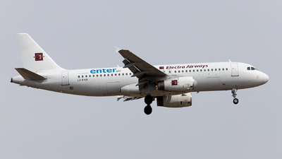 LZ-EAA - Airbus A320-231 - Enter Air (Electra Airways)