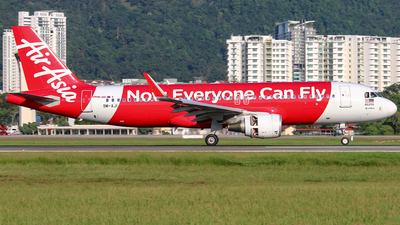 A picture of 9MAJI - Airbus A320216 - AirAsia - © Jaydn Ting