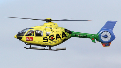 G-SCAA - Eurocopter EC 135T2+ - Babcock Mission Critical Services Onshore