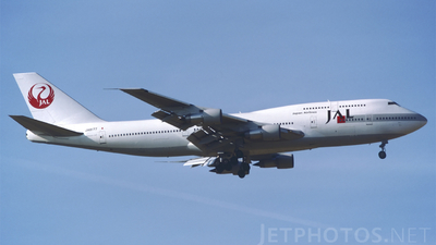JA8177 - Boeing 747-346 - Japan Airlines (JAL)
