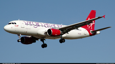EI-EZV - Airbus A320-214 - Virgin Atlantic Airways (Aer Lingus)