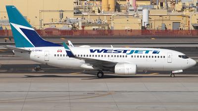 A picture of CGYWJ - Boeing 7377CT - WestJet - © Jason Whitebird