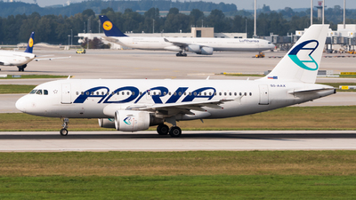 S5-AAX - Airbus A319-111 - Adria Airways