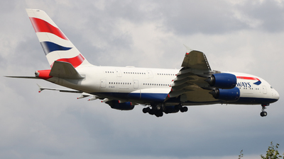 G-XLEH - Airbus A380-841 - British Airways