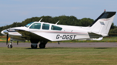 A picture of GDGST - Beech 95B55 Baron - [TC2011] - © Brian T Richards
