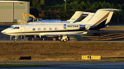 N523AM - Gulfstream G-III - Private