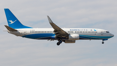 A picture of B5528 - Boeing 73785C - Xiamen Air - © Aaron_ZSAM