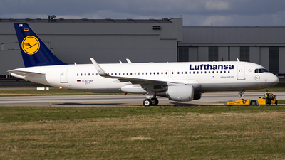 D-AVVM - Airbus A320-232 - Lufthansa