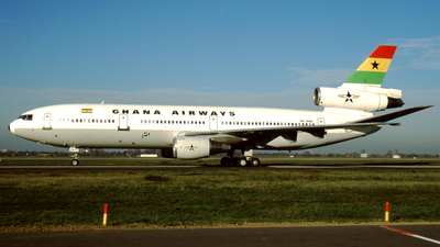 9G-ANB - McDonnell Douglas DC-10-30 - Ghana Airways