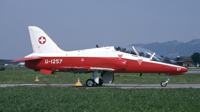 U-1257 - British Aerospace Hawk Mk.66 - Switzerland - Air Force