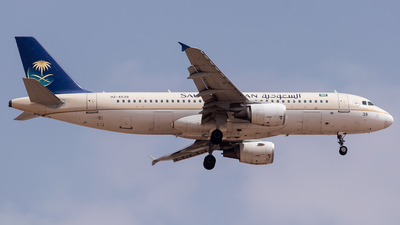 A picture of HZAS39 - Airbus A320214 - Saudia - © AirlinerSpotter