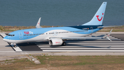 A picture of DATUM - Boeing 7378K5 - TUI fly - © David Bernart