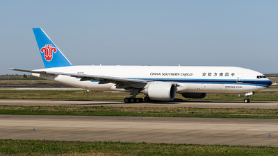 A picture of B2042 - Boeing 777F1B - China Southern Airlines - © MingyaoLeonardo