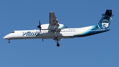 A picture of N404QX - De Havilland Canada Dash 8400 - Alaska Airlines - © Yixin Chen
