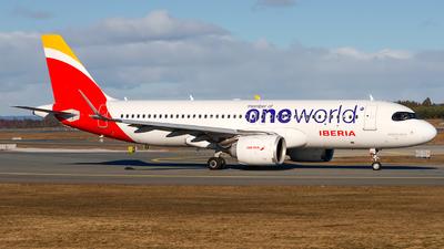 A picture of ECNFZ - Airbus A320251N - Iberia - © Laszlo Fekete