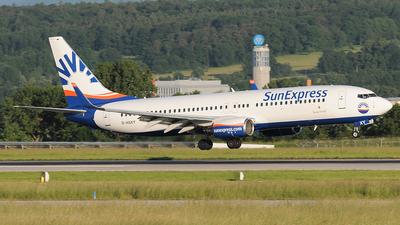 D-ASXY - Boeing 737-8AS - SunExpress Germany