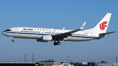 B-1418 - Boeing 737-89L - Air China