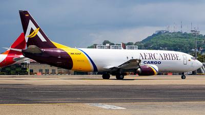 A picture of HK5357 - Boeing 7374K5(SF) - AerCaribe - © Leonardo Muñoz Arnedo CG