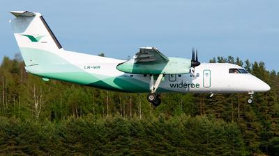 A picture of LNWIR - De Havilland Canada Dash 8100 - Wideroe - © Laszlo Fekete