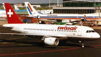 HB-IPV - Airbus A319-112 - Swissair